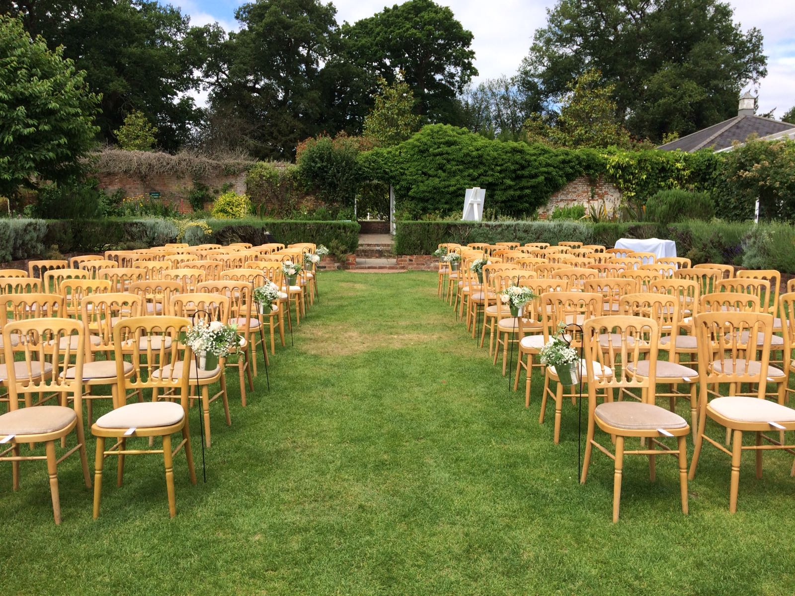 Outdoor Wedding Blessing At Northbrook Park Surrey Jenny Knight